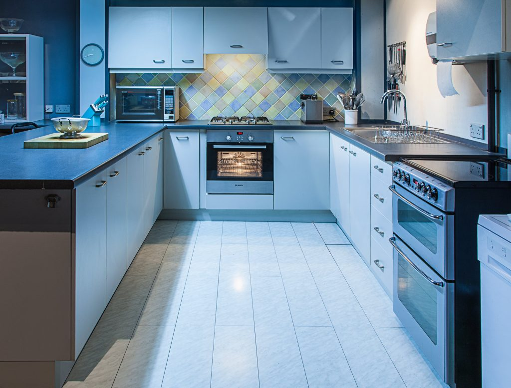 Image of Fully fitted kitchen from London food photographer Michael Michaels