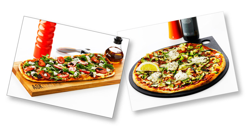Ask italian pizzas by London based food photographer Michael Michaels