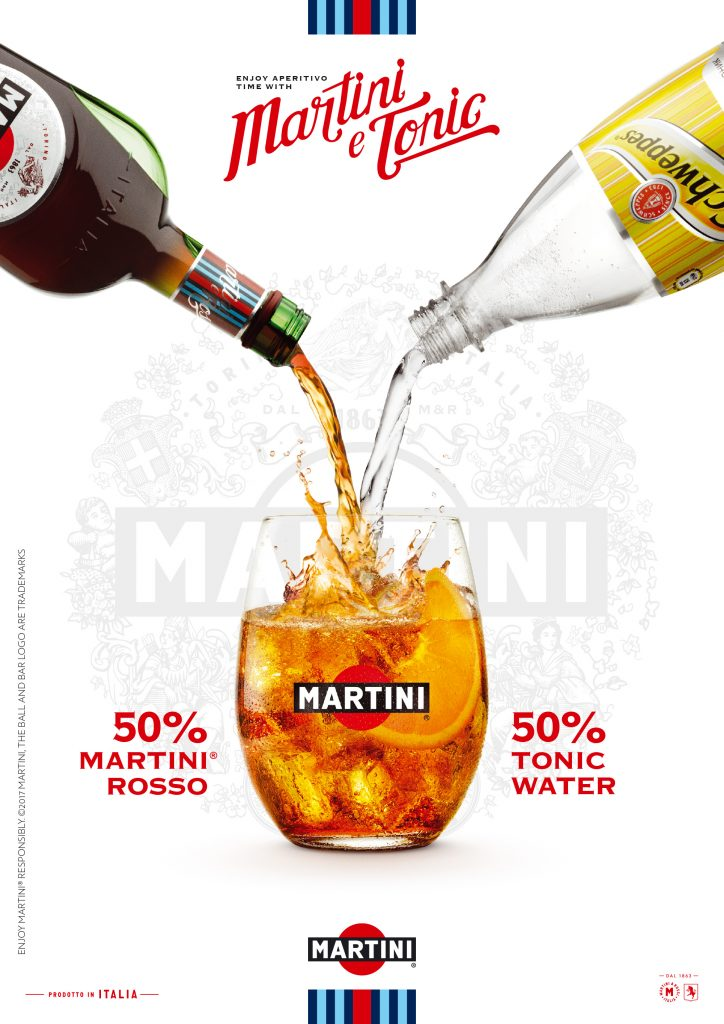 Martini Rosso with Orange and Schweppes dr4inks photography by London food Photographer, Michael Michaels
